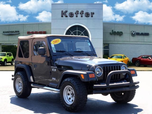 used 2005 Jeep Wrangler car, priced at $15,770