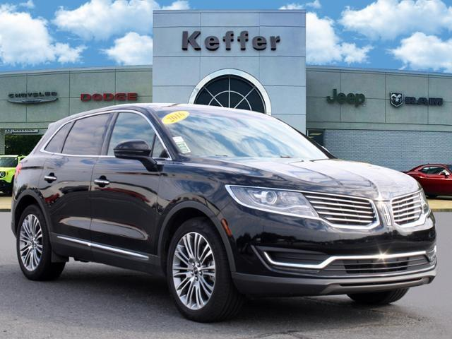 used 2016 Lincoln MKX car, priced at $24,888