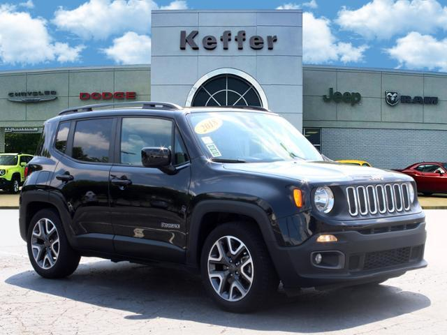 used 2018 Jeep Renegade car, priced at $20,170