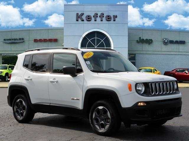 used 2017 Jeep Renegade car, priced at $19,270