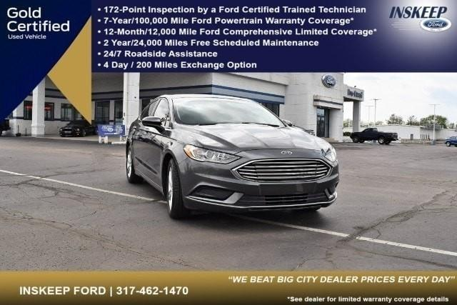 used 2018 Ford Fusion car, priced at $18,995