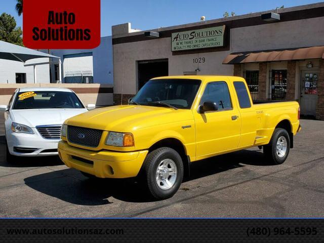 used 2002 Ford Ranger car, priced at $9,995