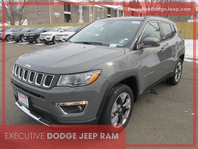 new 2021 Jeep Compass car, priced at $33,453