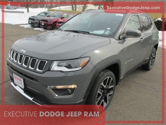 new 2021 Jeep Compass car, priced at $36,113