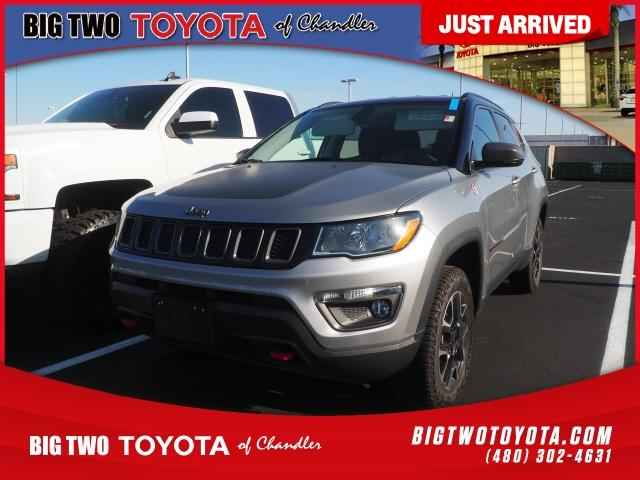 used 2019 Jeep Compass car, priced at $25,311
