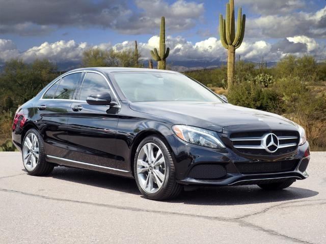 used 2017 Mercedes-Benz C-Class car, priced at $25,958