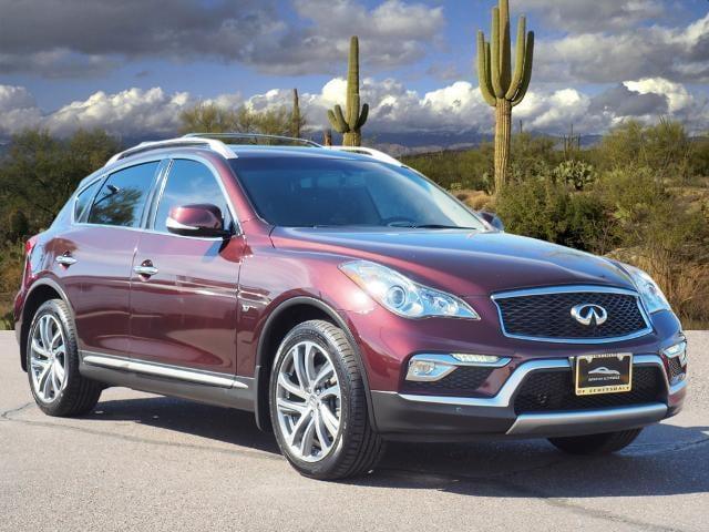 used 2017 INFINITI QX50 car, priced at $26,510