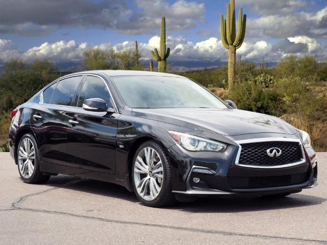 used 2018 INFINITI Q50 car, priced at $29,008