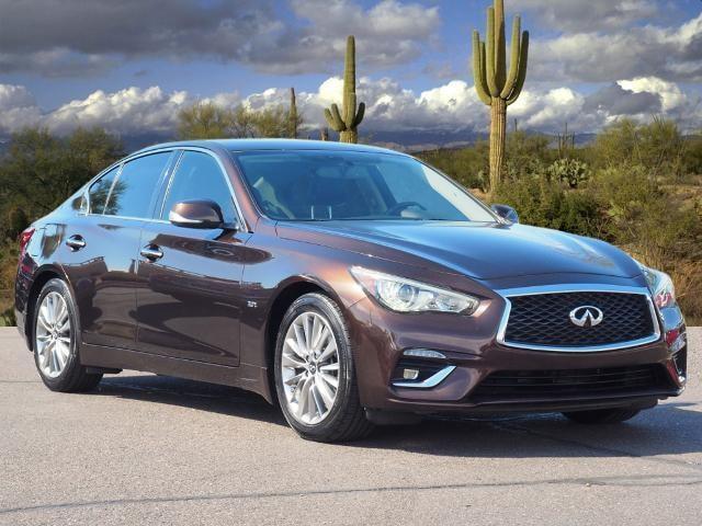 used 2018 INFINITI Q50 car, priced at $27,988