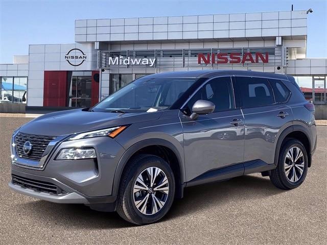 new 2021 Nissan Rogue car, priced at $27,734