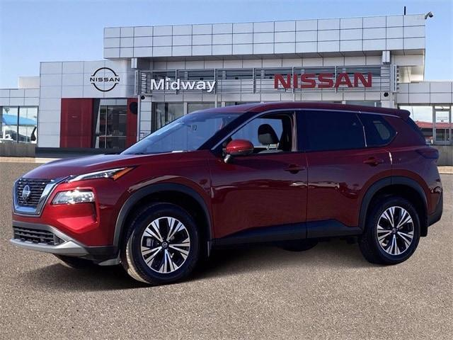 new 2021 Nissan Rogue car, priced at $28,178