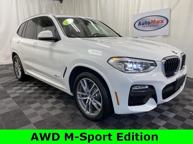 used 2018 BMW X3 car, priced at $35,500