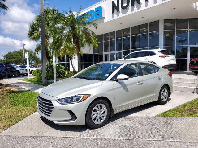 used 2017 Hyundai Elantra car, priced at $14,394