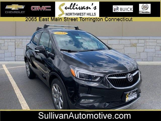 used 2018 Buick Encore car, priced at $23,999