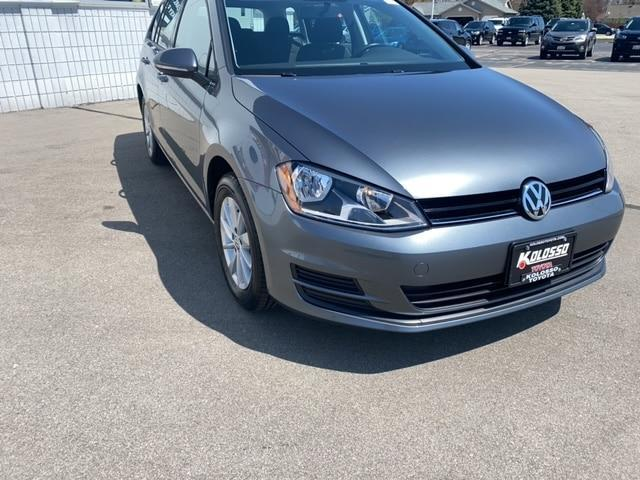 used 2017 Volkswagen Golf SportWagen car, priced at $16,707