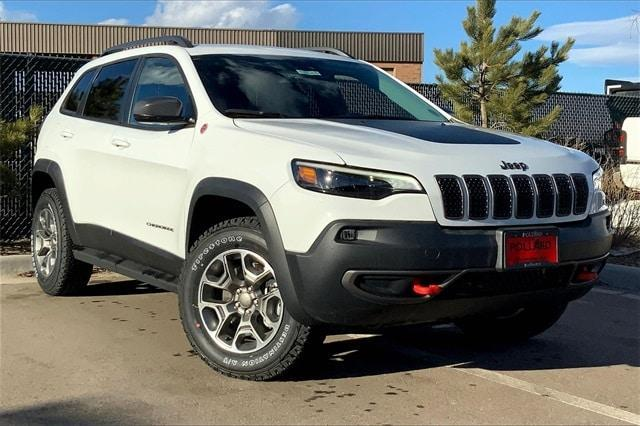 new 2021 Jeep Cherokee car, priced at $35,750