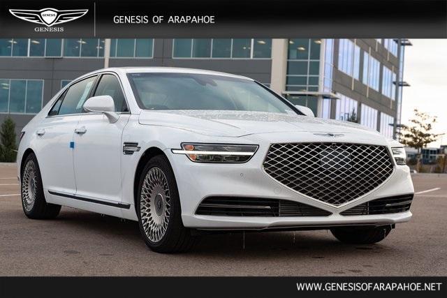 new 2021 Genesis G90 car, priced at $73,974