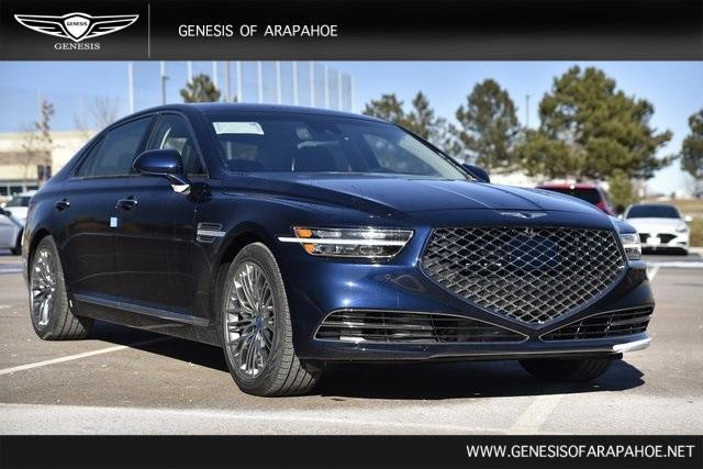 new 2021 Genesis G90 car, priced at $77,892