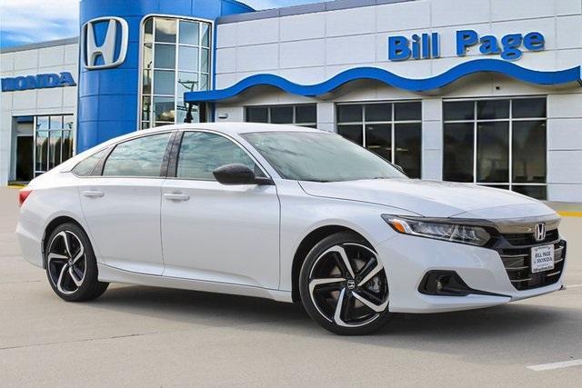 new 2021 Honda Accord car, priced at $27,488