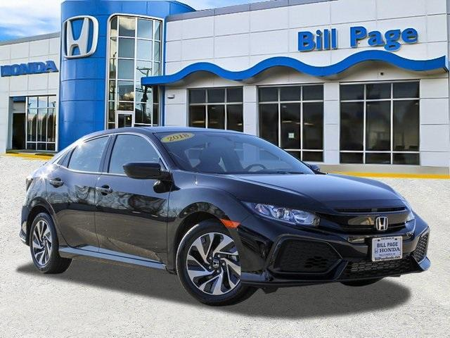 used 2018 Honda Civic car, priced at $18,495