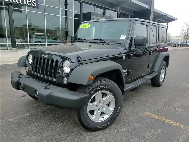 used 2017 Jeep Wrangler Unlimited car, priced at $32,983