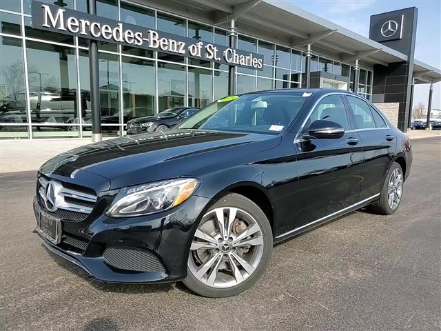 used 2018 Mercedes-Benz C-Class car, priced at $30,483