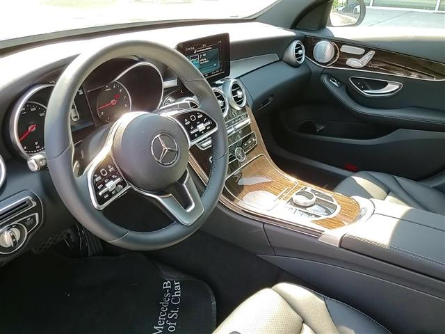 used 2019 Mercedes-Benz C-Class car, priced at $40,934