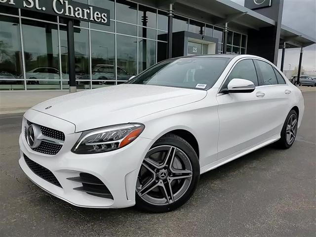 used 2020 Mercedes-Benz C-Class car, priced at $38,483