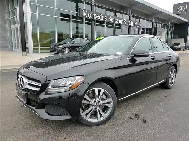 used 2018 Mercedes-Benz C-Class car, priced at $29,983