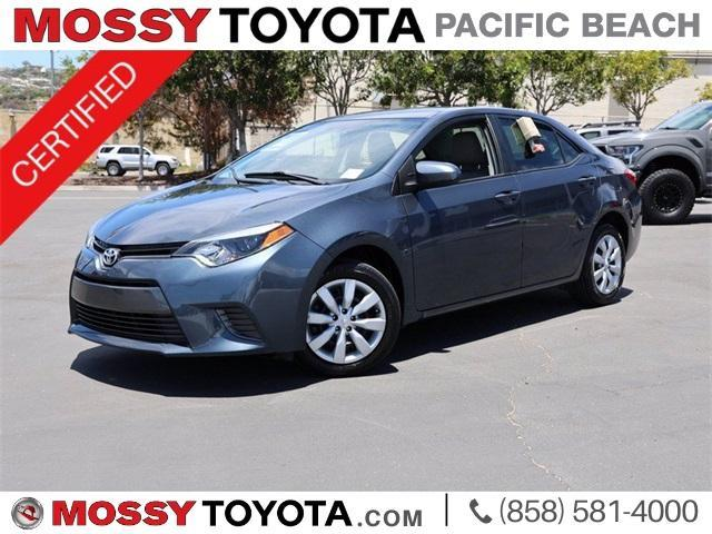 used 2016 Toyota Corolla car, priced at $17,495