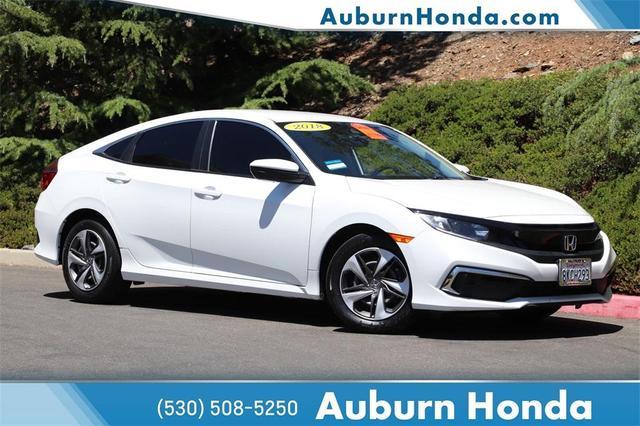 used 2019 Honda Civic car, priced at $18,998