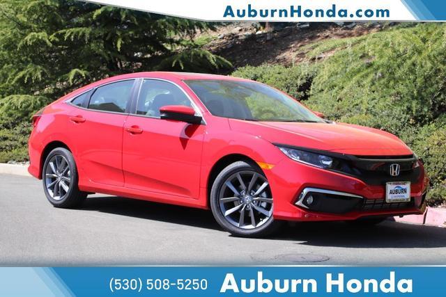 new 2021 Honda Civic car, priced at $26,595