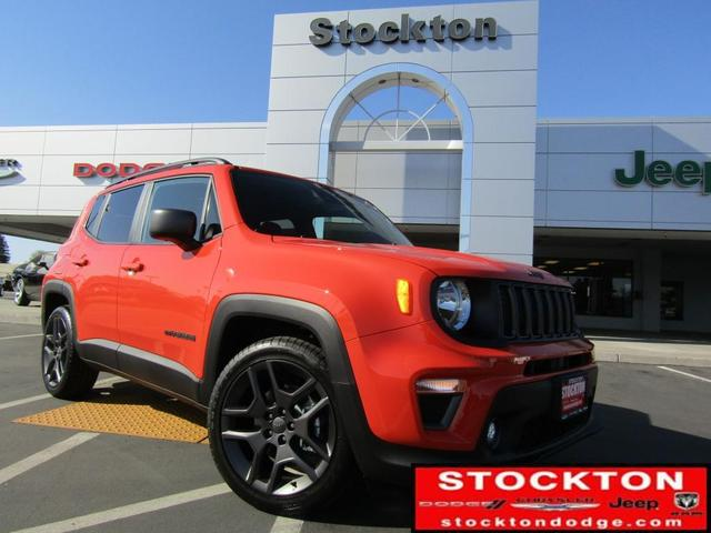 new 2021 Jeep Renegade car, priced at $28,485
