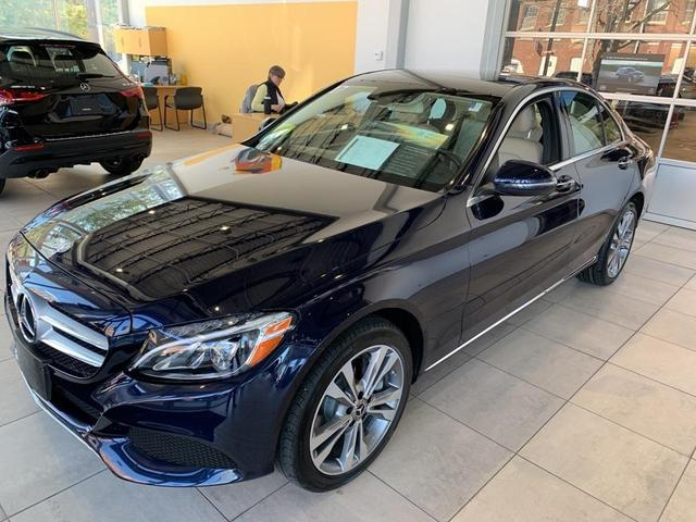 used 2017 Mercedes-Benz C-Class car, priced at $31,500