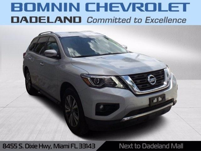 used 2019 Nissan Pathfinder car, priced at $23,990