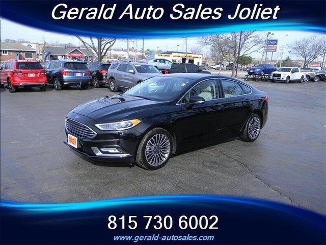 used 2017 Ford Fusion car, priced at $13,904