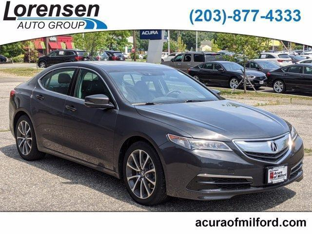 used 2015 Acura TLX car, priced at $21,448