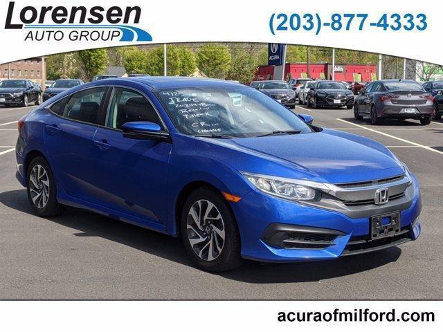 used 2016 Honda Civic car, priced at $18,140