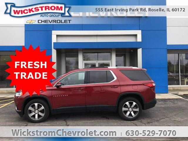 used 2018 Chevrolet Traverse car, priced at $35,977