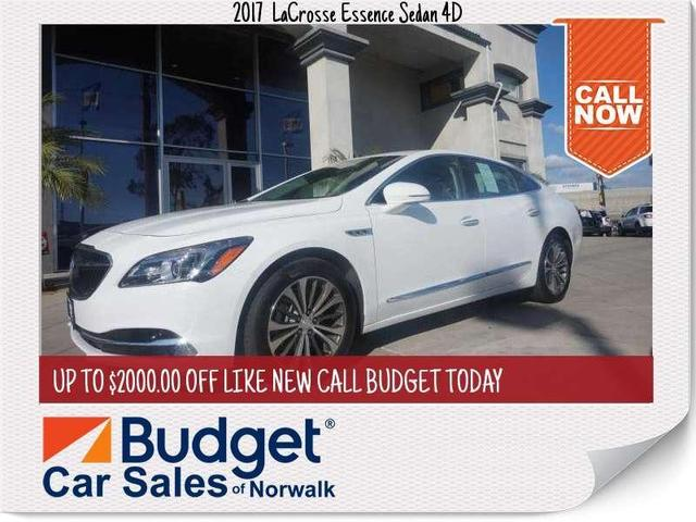 used 2017 Buick LaCrosse car, priced at $18,999