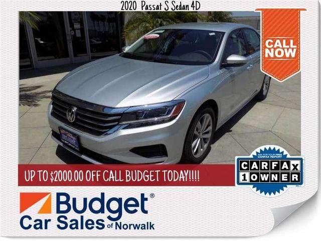 used 2020 Volkswagen Passat car, priced at $22,999