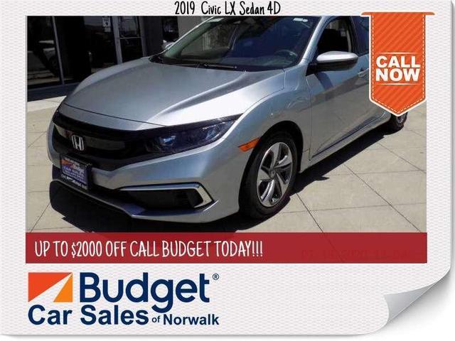 used 2019 Honda Civic car, priced at $20,999