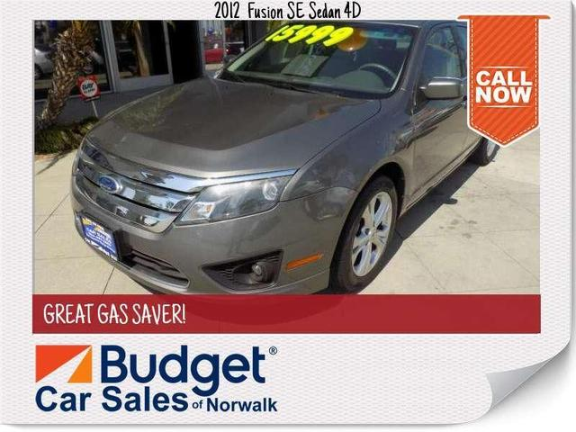 used 2012 Ford Fusion car, priced at $13,999