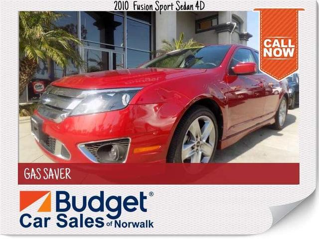used 2010 Ford Fusion car, priced at $12,999