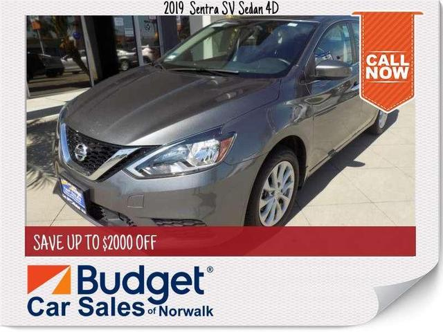 used 2019 Nissan Sentra car, priced at $18,999