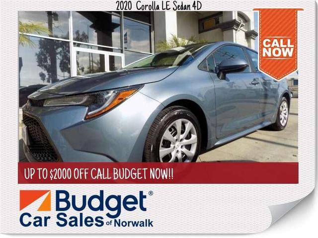 used 2020 Toyota Corolla car, priced at $18,989
