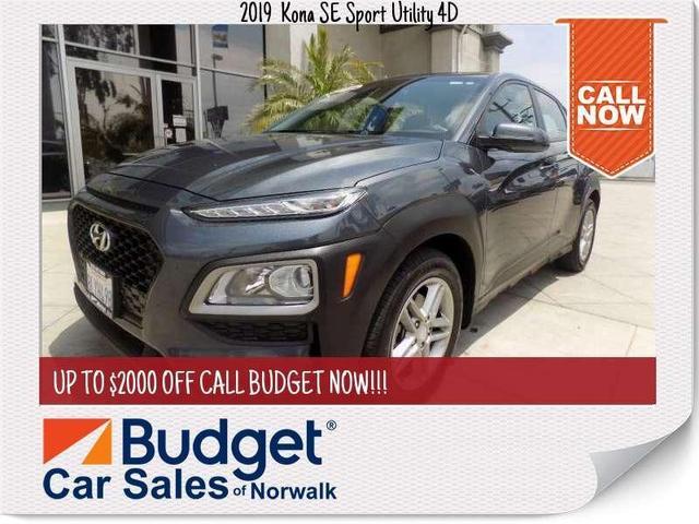 used 2019 Hyundai Kona car, priced at $19,999
