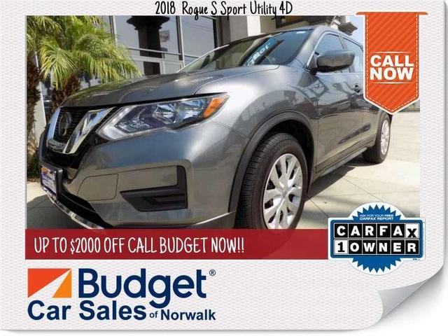 used 2018 Nissan Rogue car, priced at $19,999