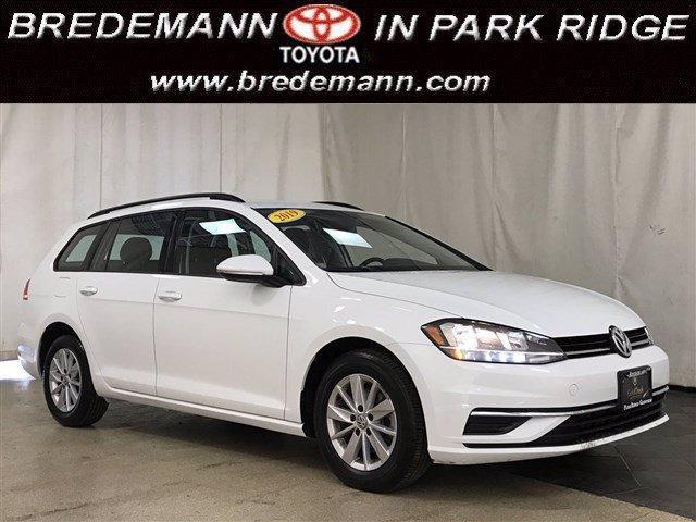 used 2019 Volkswagen Golf SportWagen car, priced at $16,895