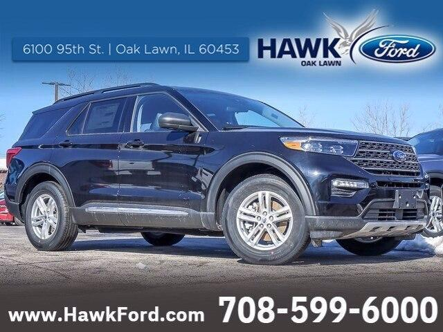 new 2021 Ford Explorer car, priced at $36,035